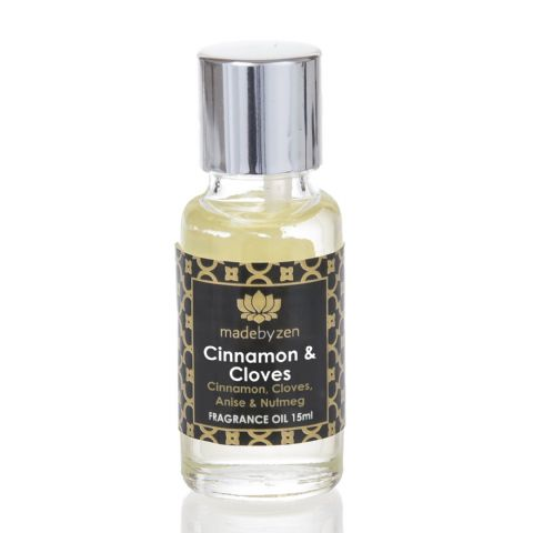 CINNAMON & CLOVES - Signature Scented Fragrance Oil Made By Zen 15ml